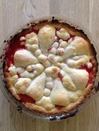 Pære/stikkelsbær-tærte