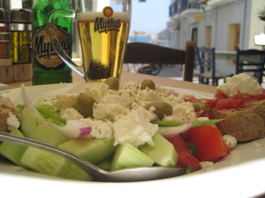 Klassisk kretansk salat
